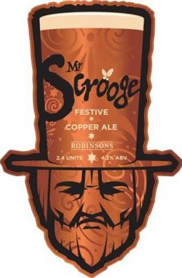 Mr Scrooge seasonal ale