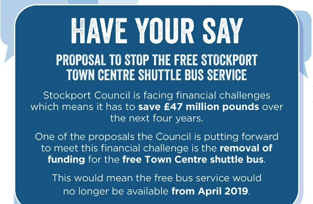 Stockport Shuttle Bus - should it stay or go?
