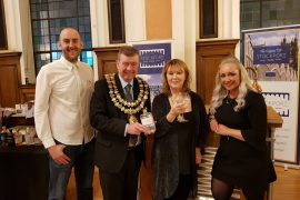 STOCKPORT GIN - Mayor and Mayoress