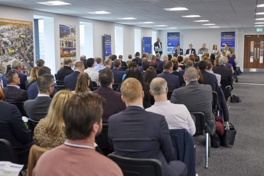 Over 90 guests joined Panel of speakers attending Stockport's Great Leap Forward