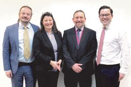 WestBridge-support-MBO-at-APEM-L-R-Dr-Adrian-Williams-Valerie-Kendall-Dr-Stuart-Clough-James-MacLeay