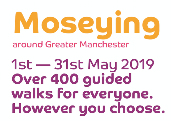 Greater Manchester Walking Festival throughout May