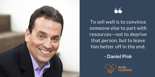 sell-like-a-human-Daniel-Pink-quote