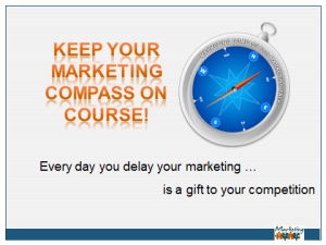 Keep your marketing compass on course