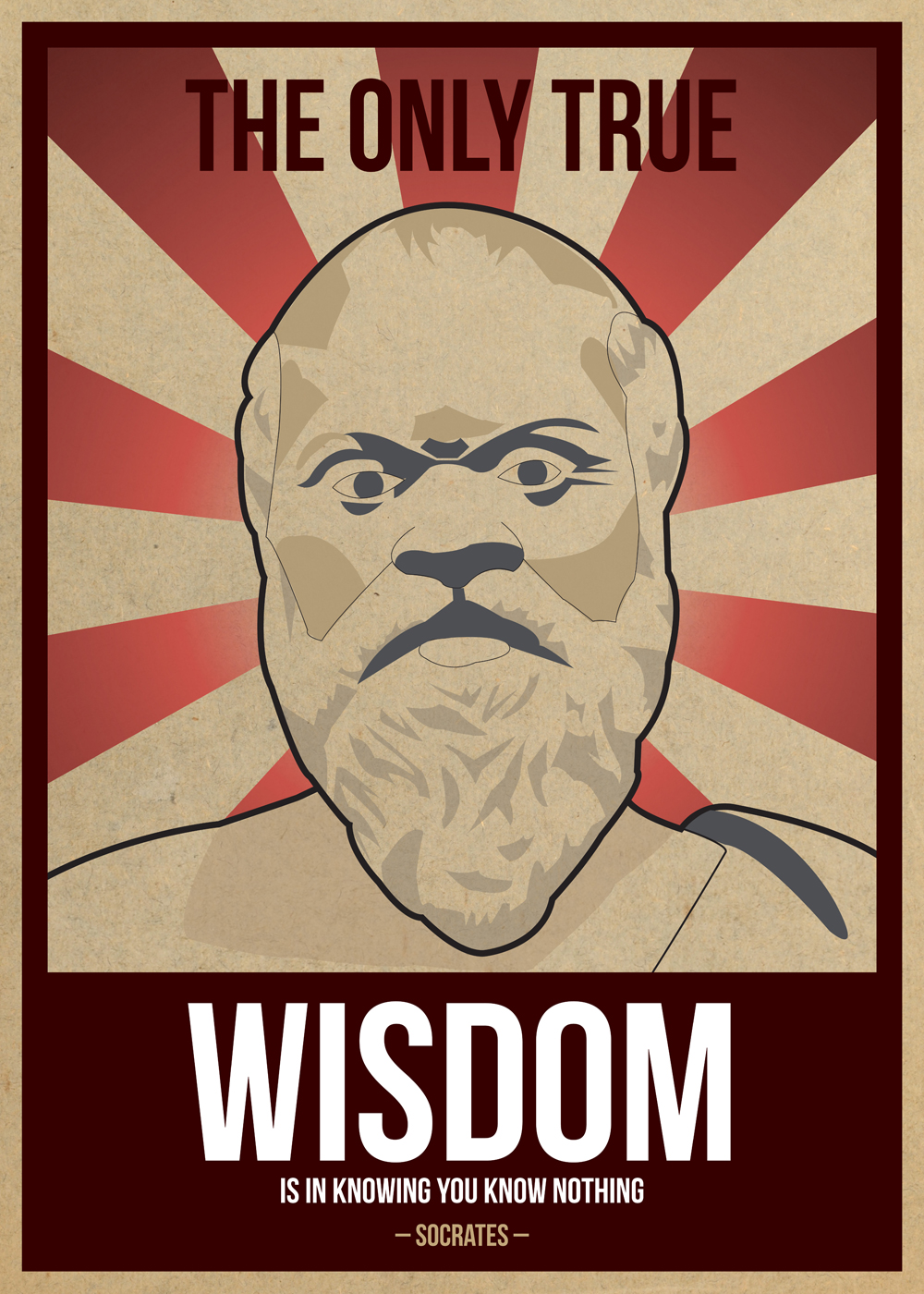 """""""The only true wisdom is in knowing you know nothing ..."""