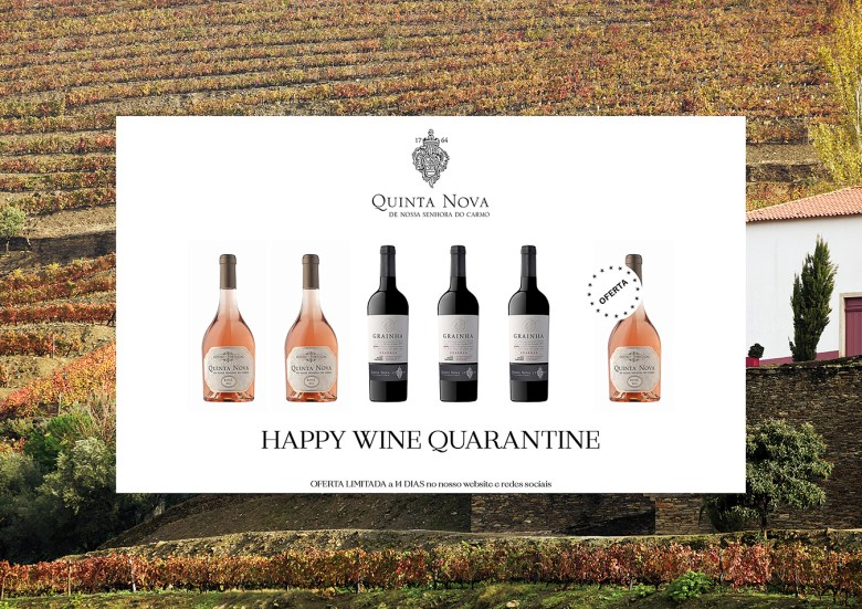 Pack 3 Happy Wine Quarantine - Quinta Nova Nossa Senhora do Carmo
