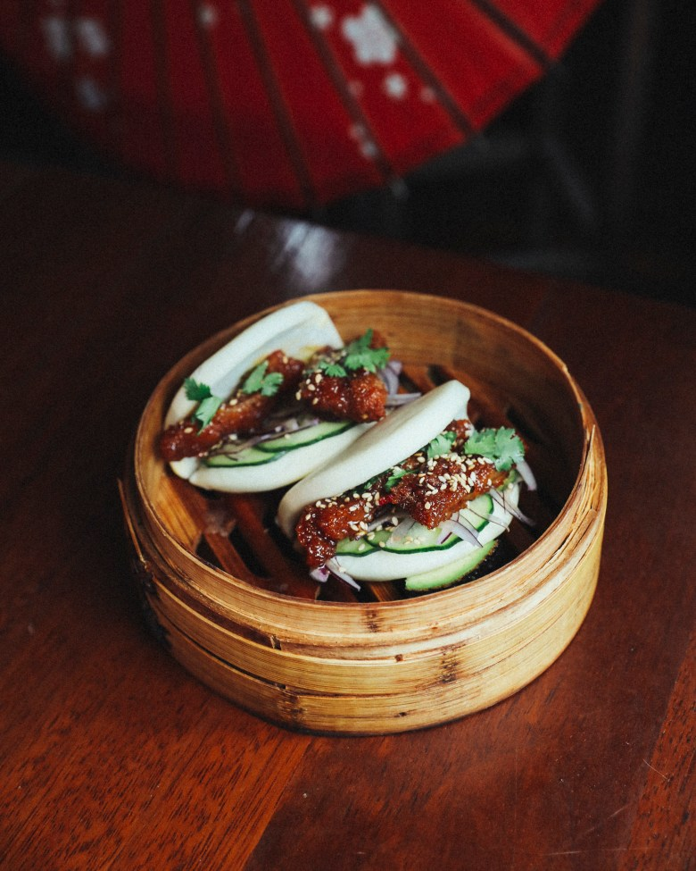 Korean Chicken Bao