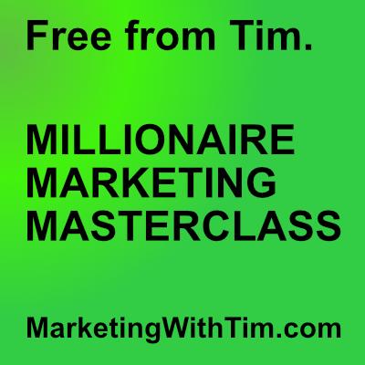 Tim Burt millionaire marketing master class free