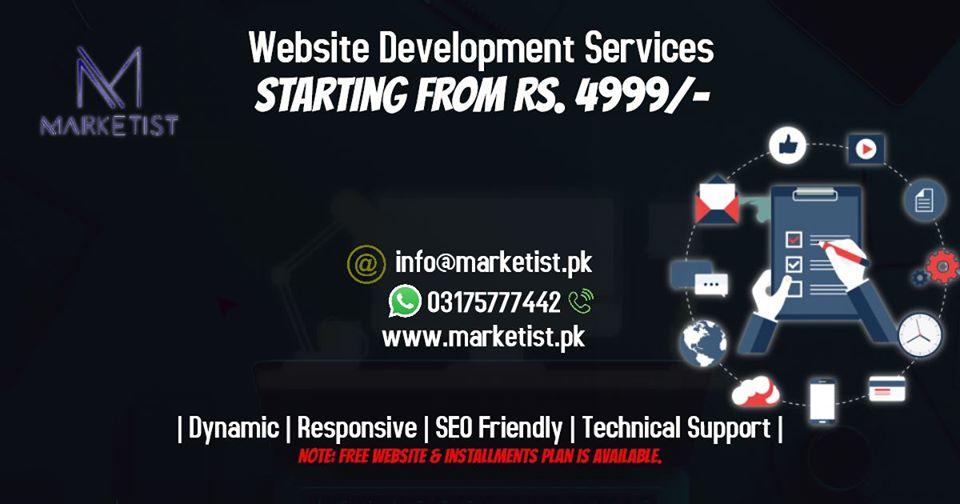 Web Design by Marketist