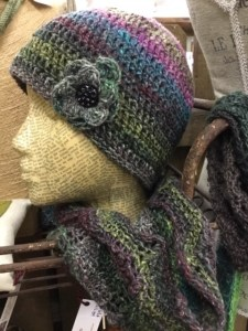 Market Junction Alberta Artisans and Boutque Market Loft Fibre Arts by Marilyn Mantik yarn crafts knitted beanies and scarves
