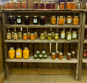 Market Junction and the Cozy Cup Cafe Antique and Artisan Market Advocate of Odd Preserves Jams Jellies and Pickled Vegetables Cremona Alberta