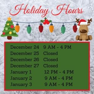 Market Junction Holiday Hours