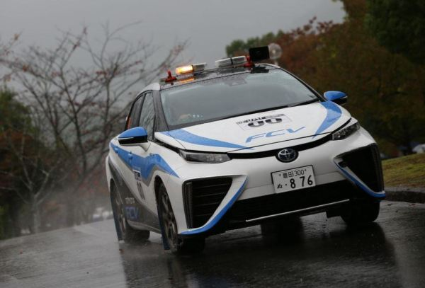 Mirai on a Test Drive