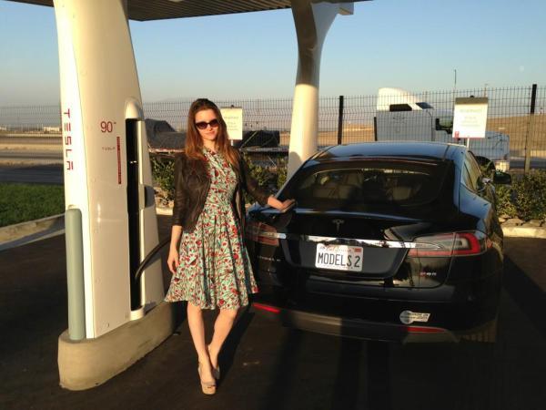 Tesla-Model-S-SuperCharger-Talulah-Riley