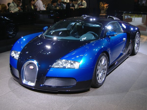 The Bugatti Veyron one of Volkswagen's many luxury cars.