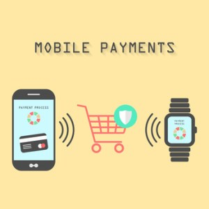 smartphone and watches with mobile payments