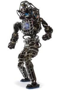 Boston Dynamics scary Atlas robot.