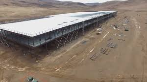 The Gigafactory Under Construction