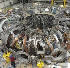 ITER components under construction in France.
