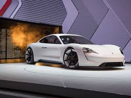 The Mission E at the Frankfurt Auto Show