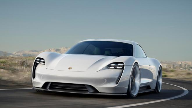 The next big electric car, Porsche's Mission E.