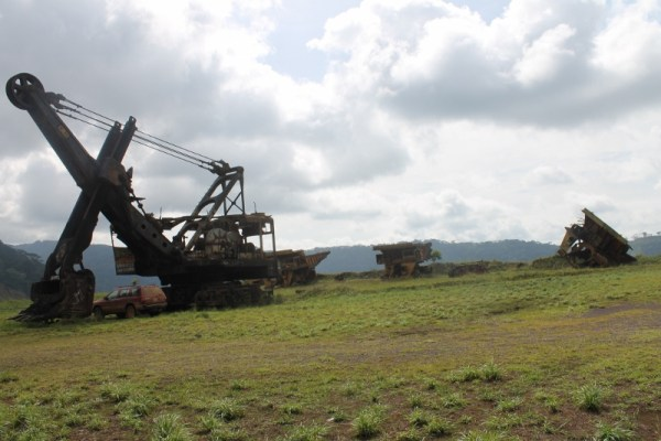 Abandoned mining equipment will become a common site all over the world real soon.