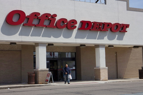 An Office Depot location in Michigan