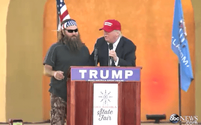The Donald interviews a possible Vice Presidential candidate.