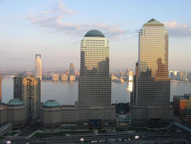American Express's palatial headquarters in Manhattan.