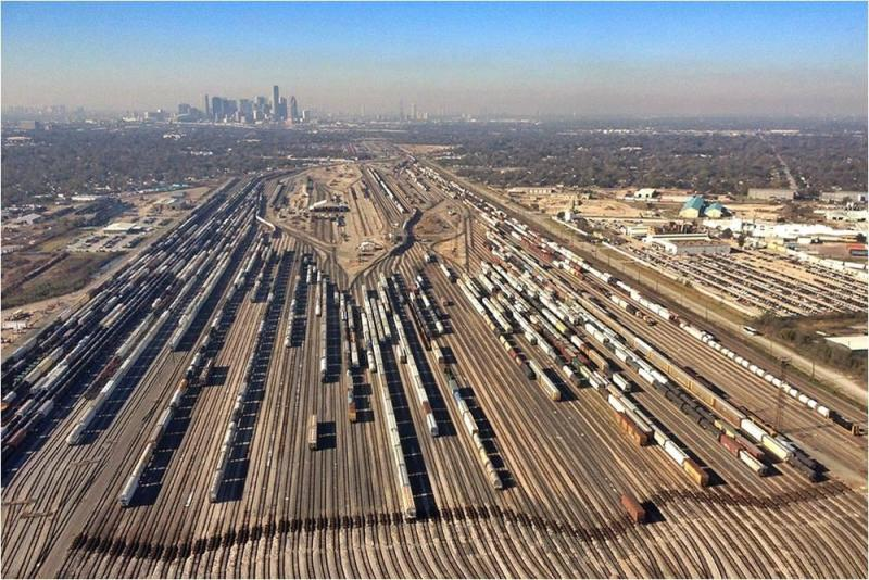 The Los Angeles Railyards UP inherited from the Southern Pacific.
