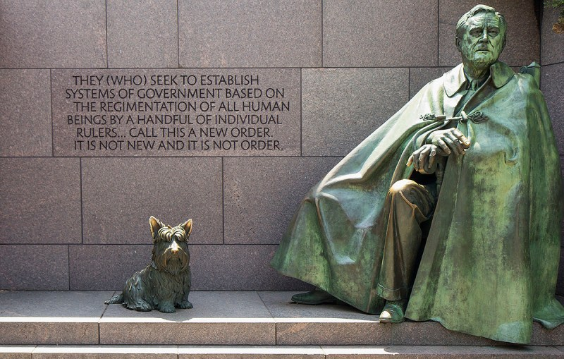 Franklin Delano Roosevelt Memorial, Washington D.C.