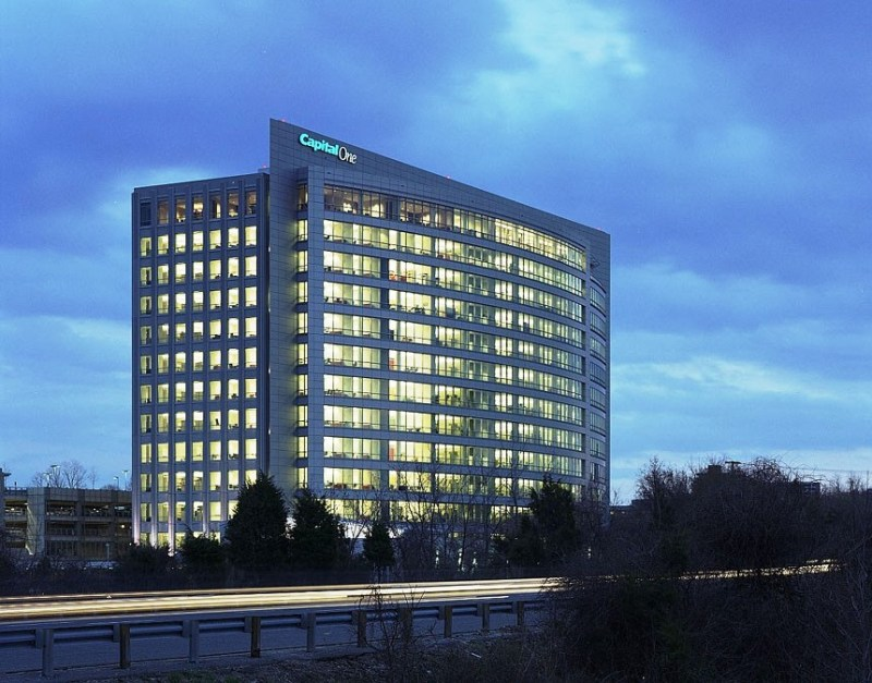 Capital One Exterior West - Tysons