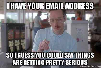lead magnet email signup meme