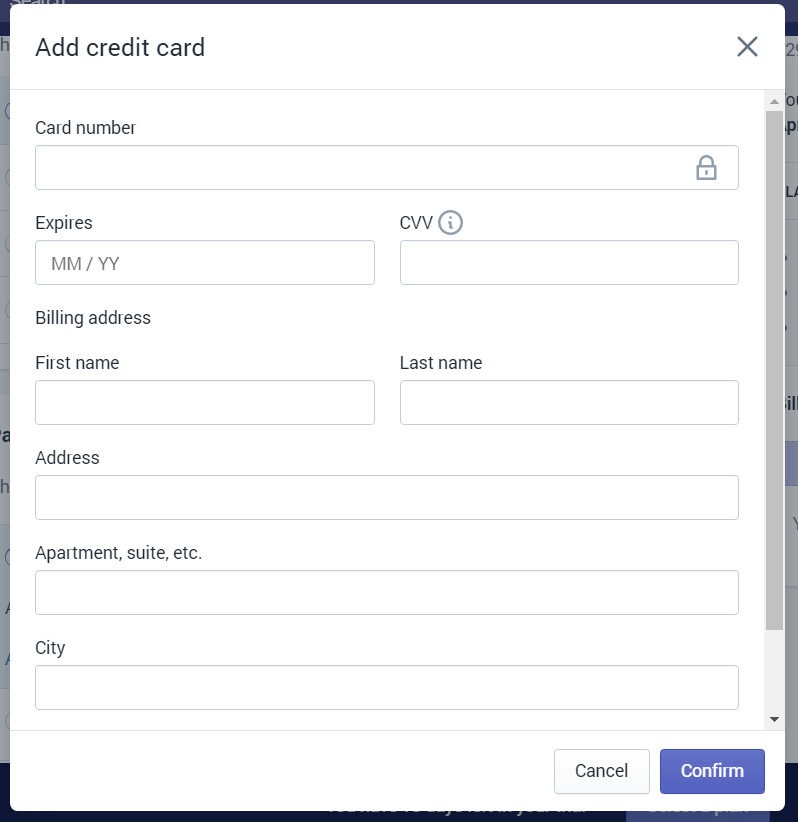 Upgrading shopify plans step 1