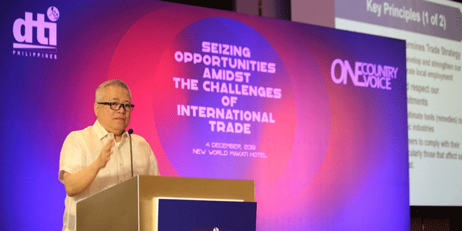 Industry policy determines trade strategy – DTI chief