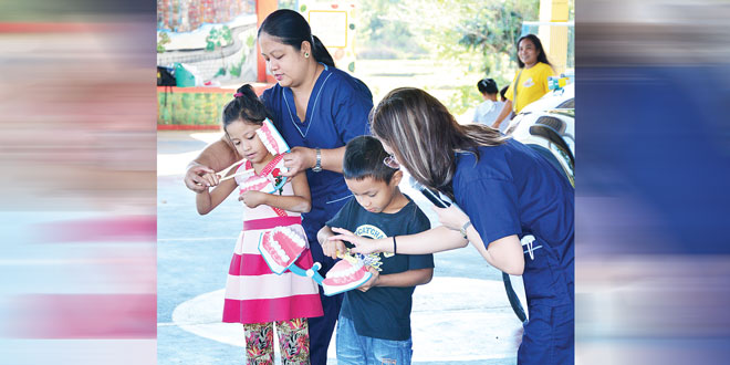 More than 1,500 pupils receive free dental services in Sual, Pangasinan