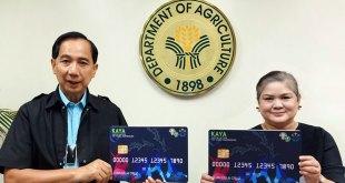 "Young agripreneurs get loans from DA's ""KAYA"" via cash card"