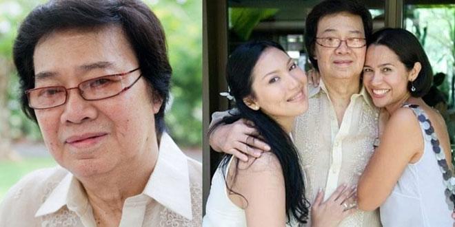 Philippine cinema icon Tony Ferrer alias Tony Falcon, Agent X-44 dies; daughters Mutya and Maricel grieve