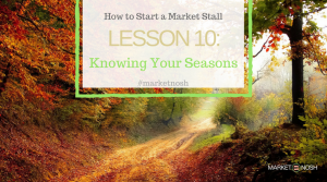 Lesson 10: Knowing your Seasons