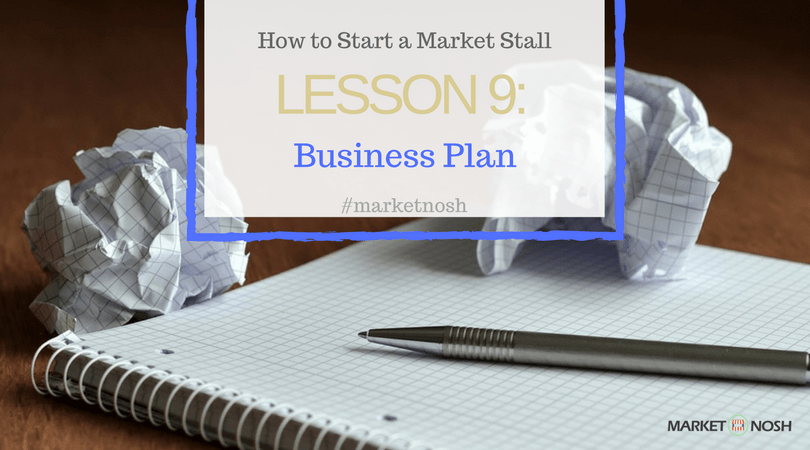 Business Plan, Create one to succeed, Market Nosh
