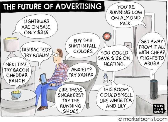 Resultado de imagen de advertising cartoon