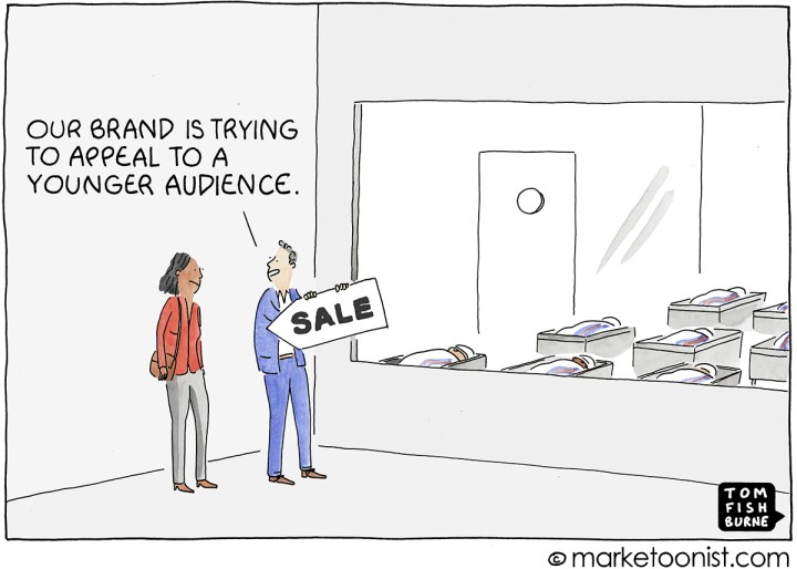 Younger Audiences cartoon