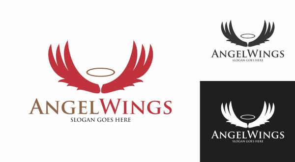angel wings logo logos