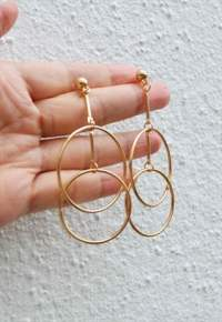 Big circle stud earring | Perfect Poppy | ASOS Marketplace