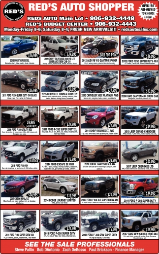 small resolution of reds auto ironwood mi over 150 pre owned to choose from red s
