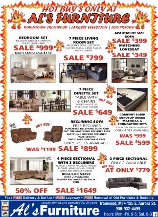 al s chairs and tables spandex chair covers china extreme hot buys furniture ironwood mi