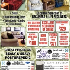 Sealy Living Room Furniture Burgundy Great Prices On Posturepedic Hitt S Fine Ashland Wi