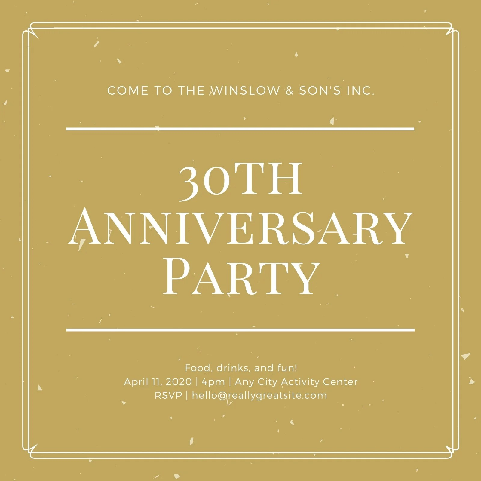 Our selection of invitations and announcements offers you a wide variety of styles to meet the needs of your company or organization. Customize 32 Company Event Invitations Templates Online Canva