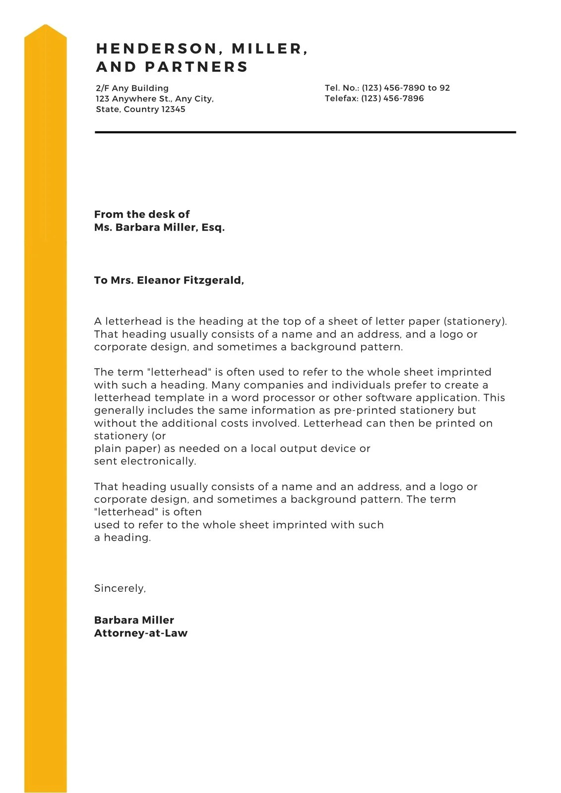 Quickly create beautifully designed letterheads that … Free Printable Business Letterhead Templates To Customize Canva