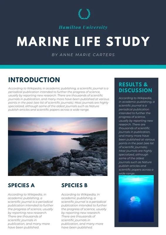 poster design template science penggambar